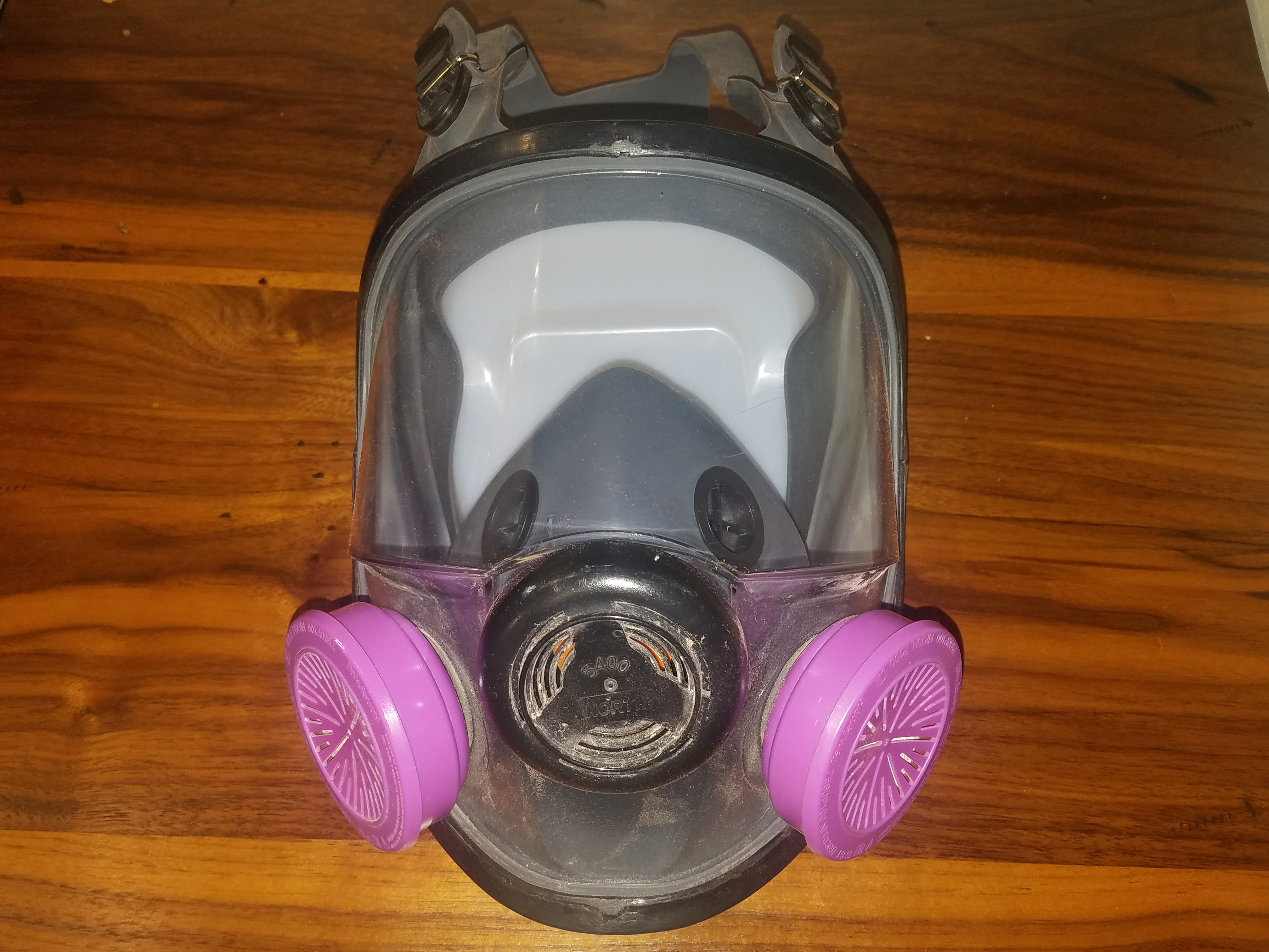 Cool Tools North Honeywell Full-faced Respirator