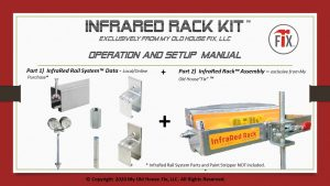 InfraRed Rack Kit. for Infrared Paint Strippers, from My Old House Fix